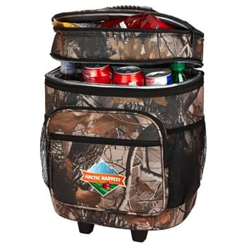 30 Can Camo Roller Cooler
