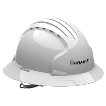 Evolution 6141 Full Brim Vented Hard Hat