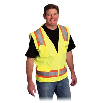 Two Tone 6 Pocket Surveyors Vest
