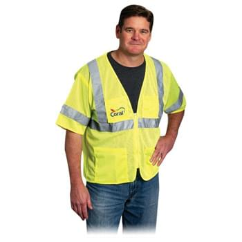 Value 4 Pocket Zipper Mesh Vest