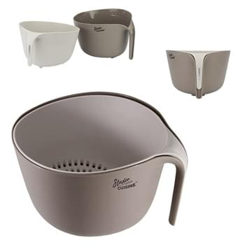 Studio Cuisine™ 2 Piece Colander/Bowl Set